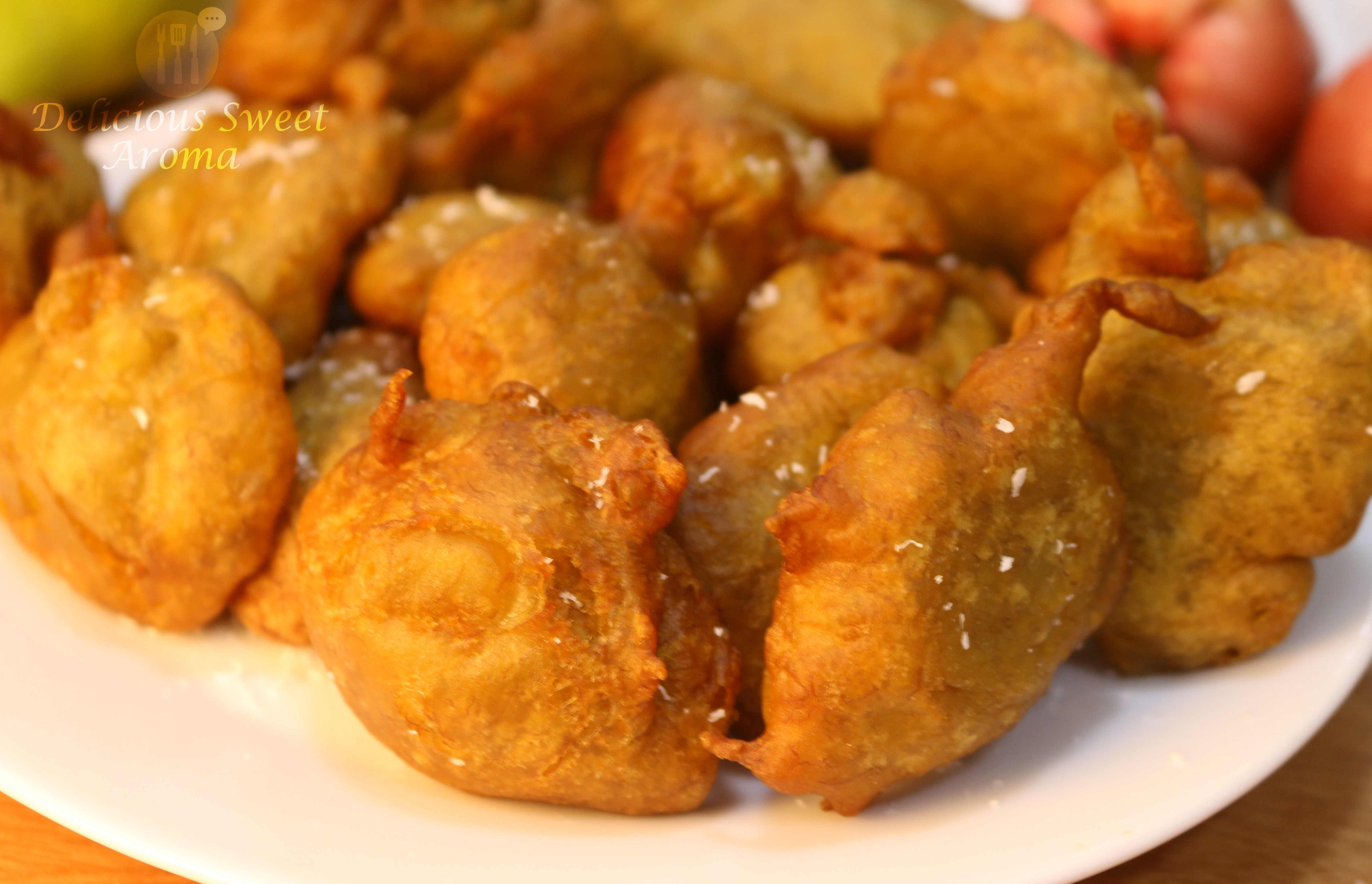 Banana Fritters   Snacks Tea-Time   Delicious Sweet Aroma