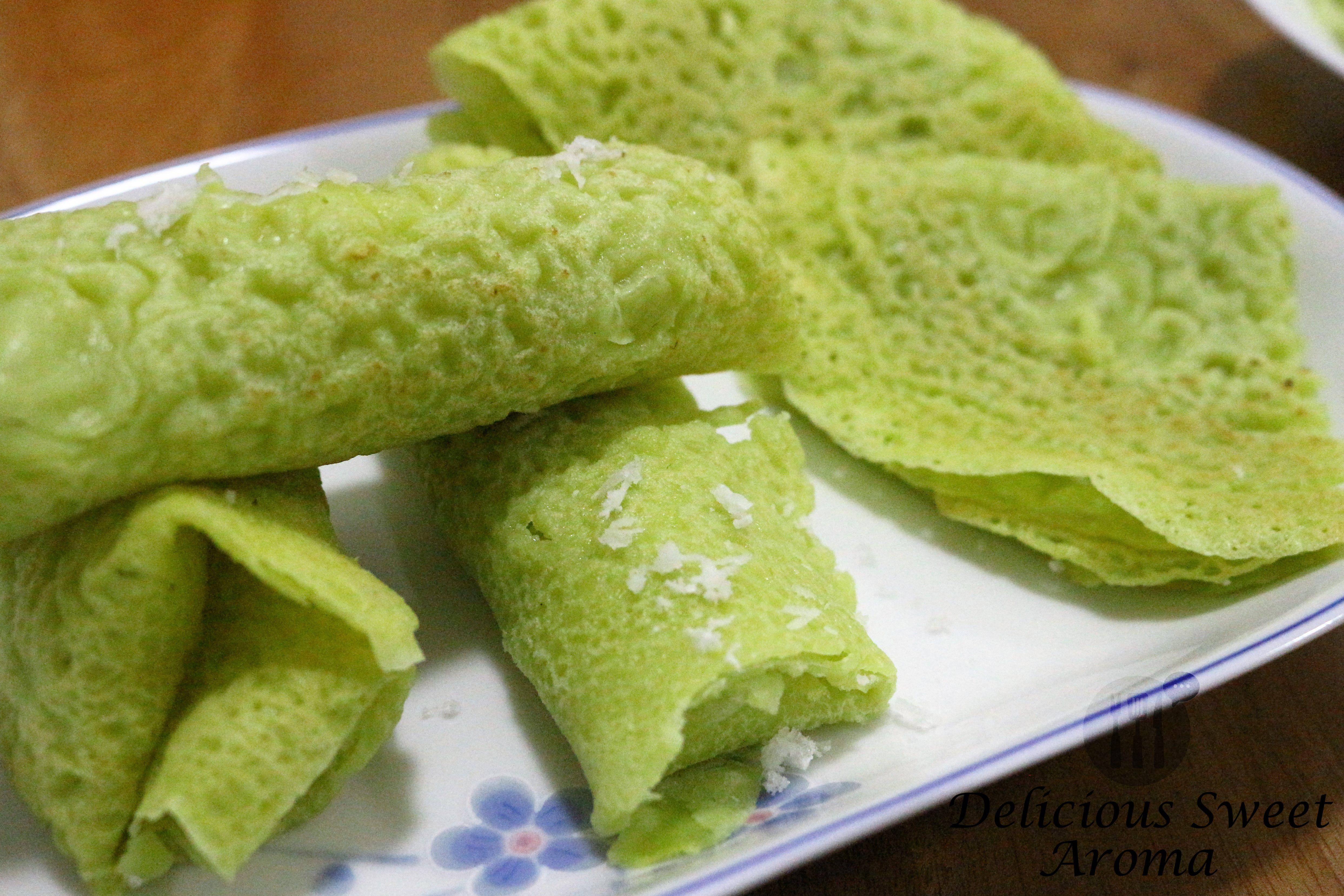 Mangalorean Pancake With Pandan