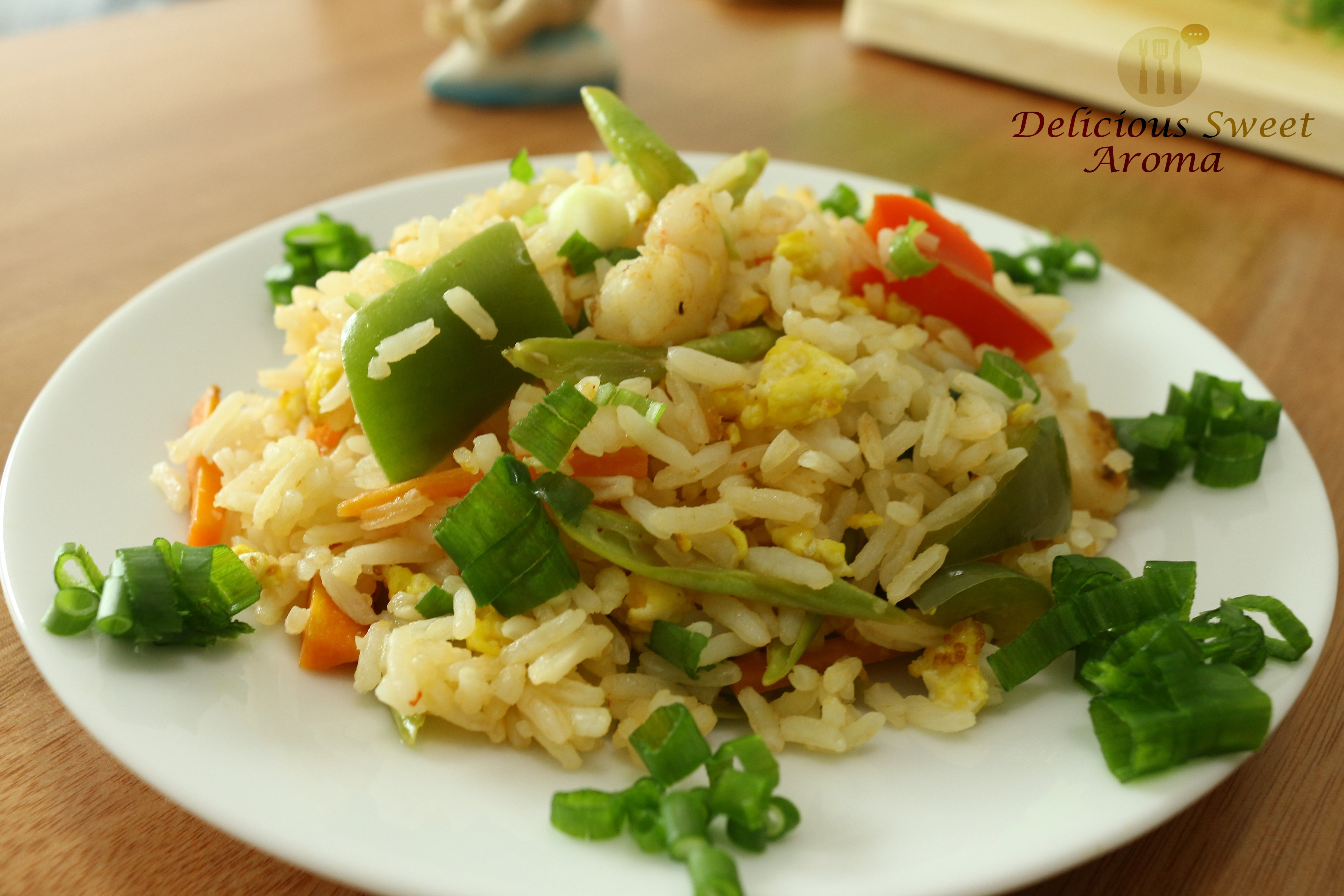 Fried Rice | Prawn recipe | Delicious Sweet Aroma