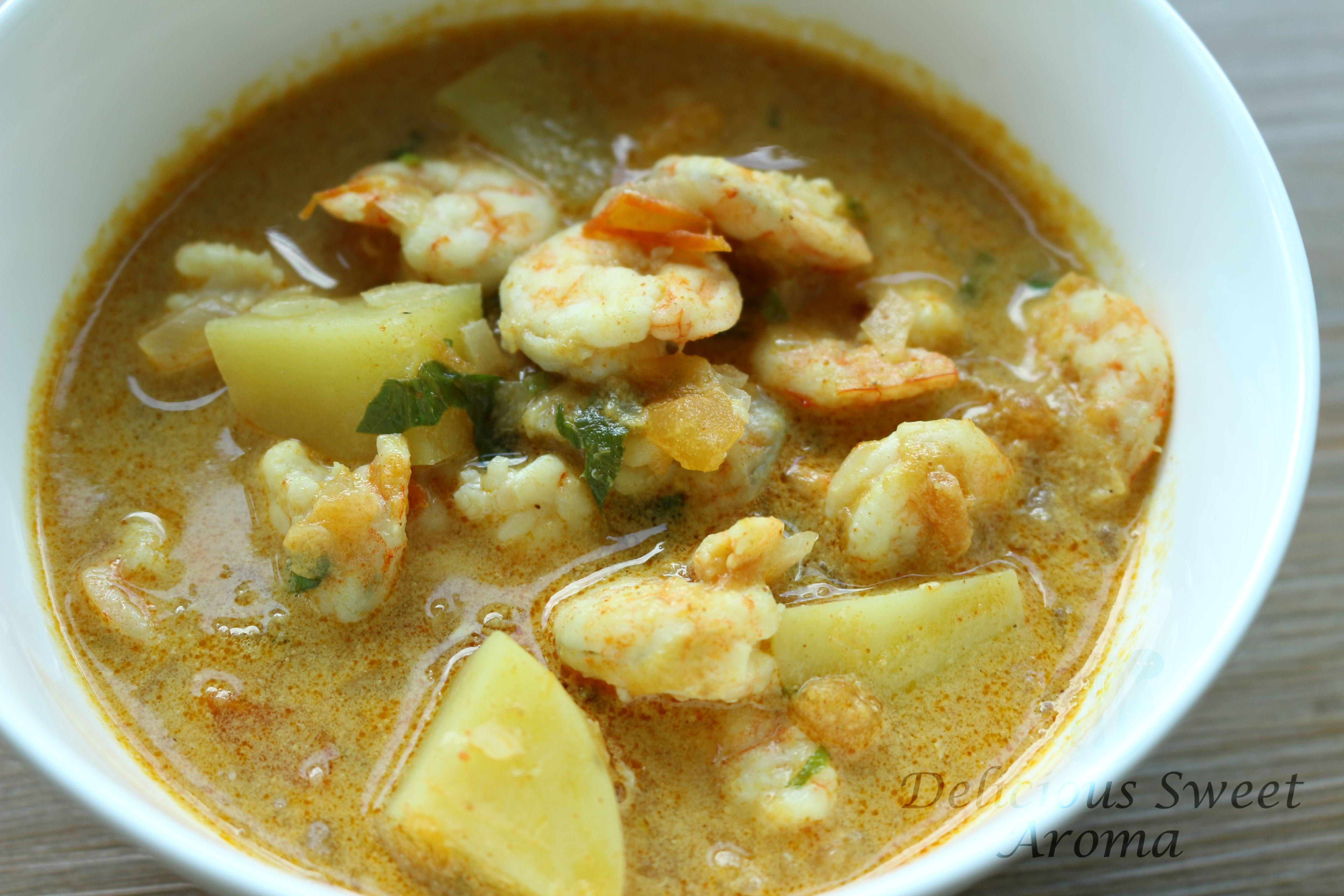 Prawn curry | Coconut milk | Recipes with prawn