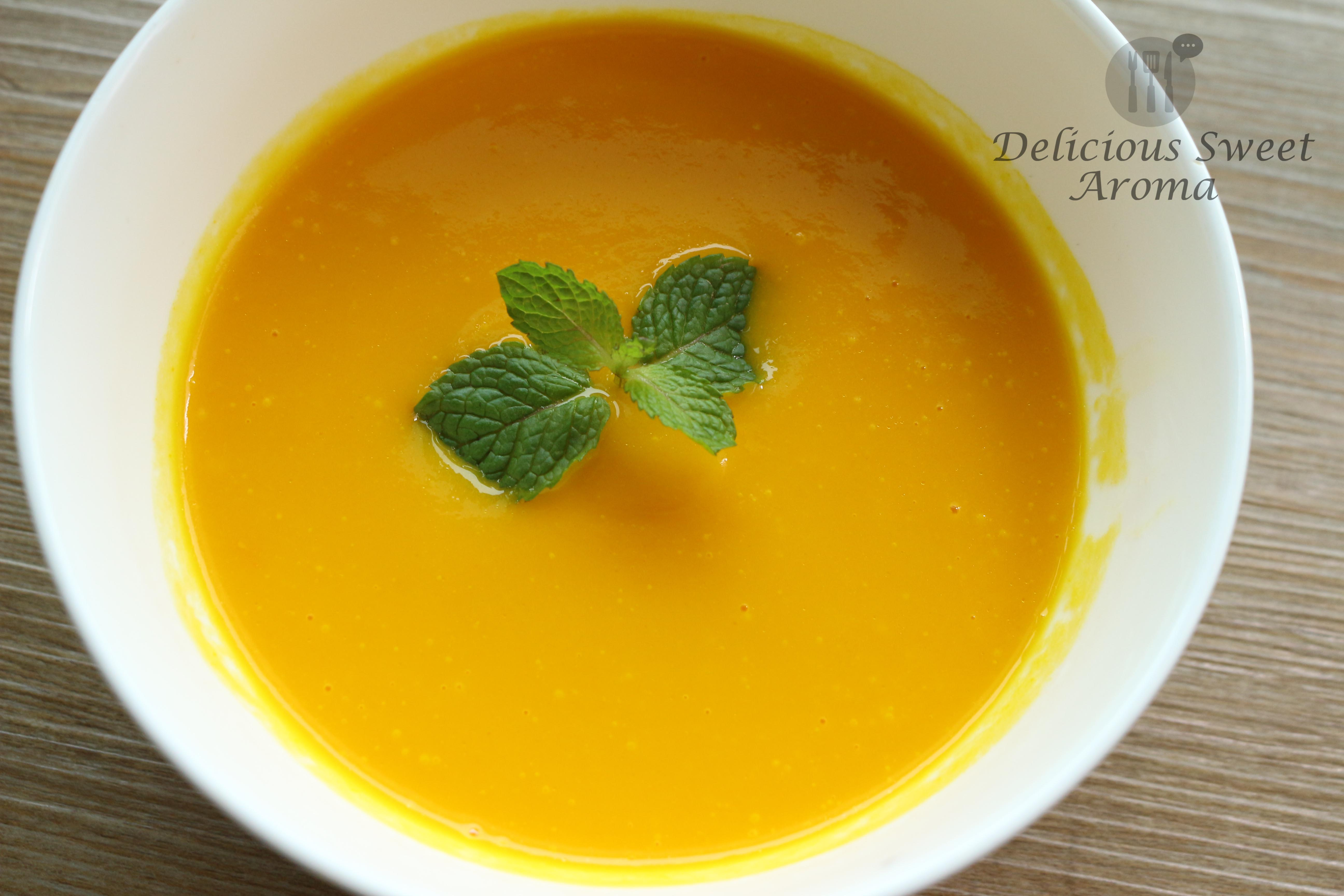 Carrot Soup | Delicious Sweet Aroma