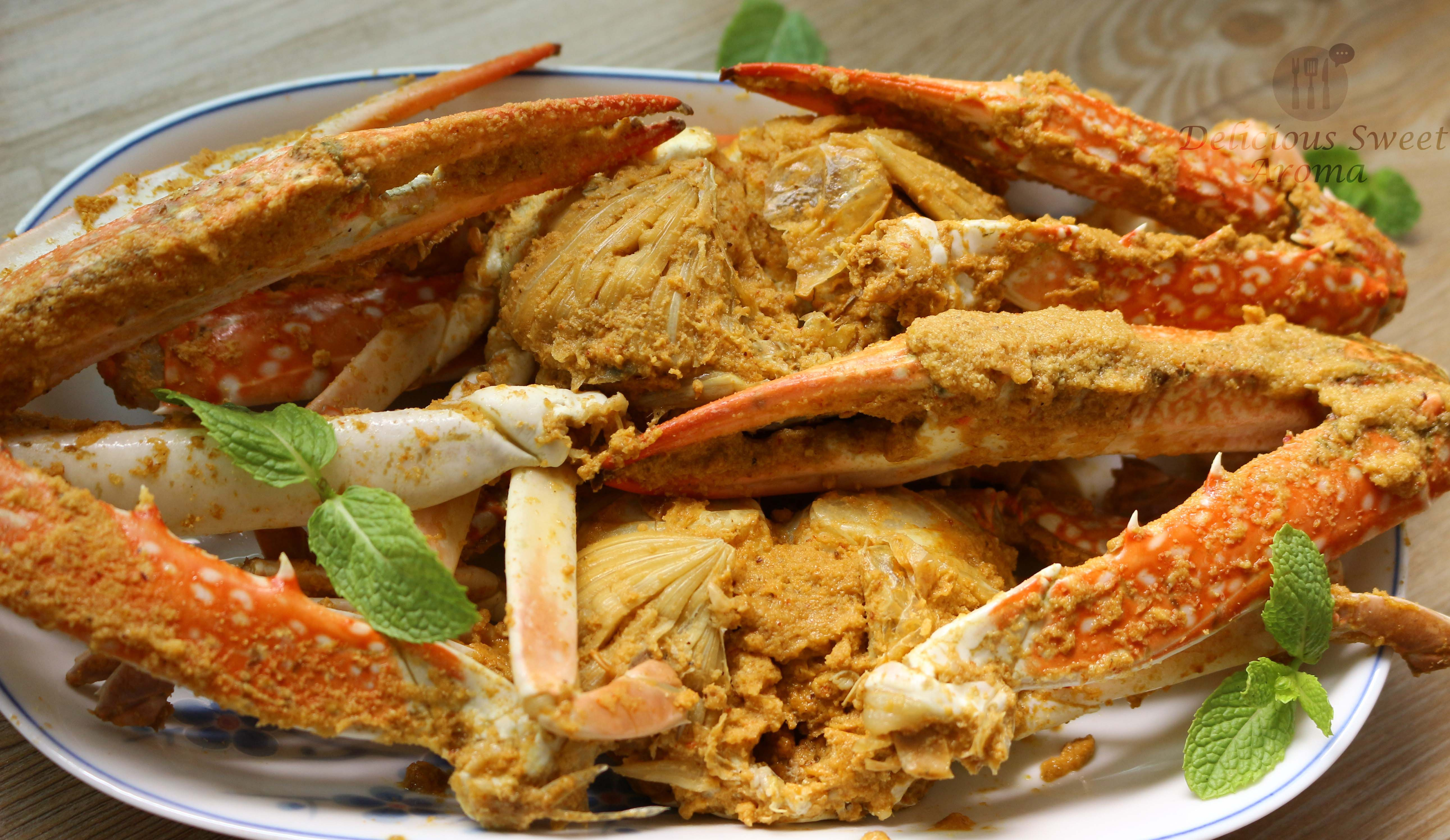 South-Indian Flower Crab Curry Recipe