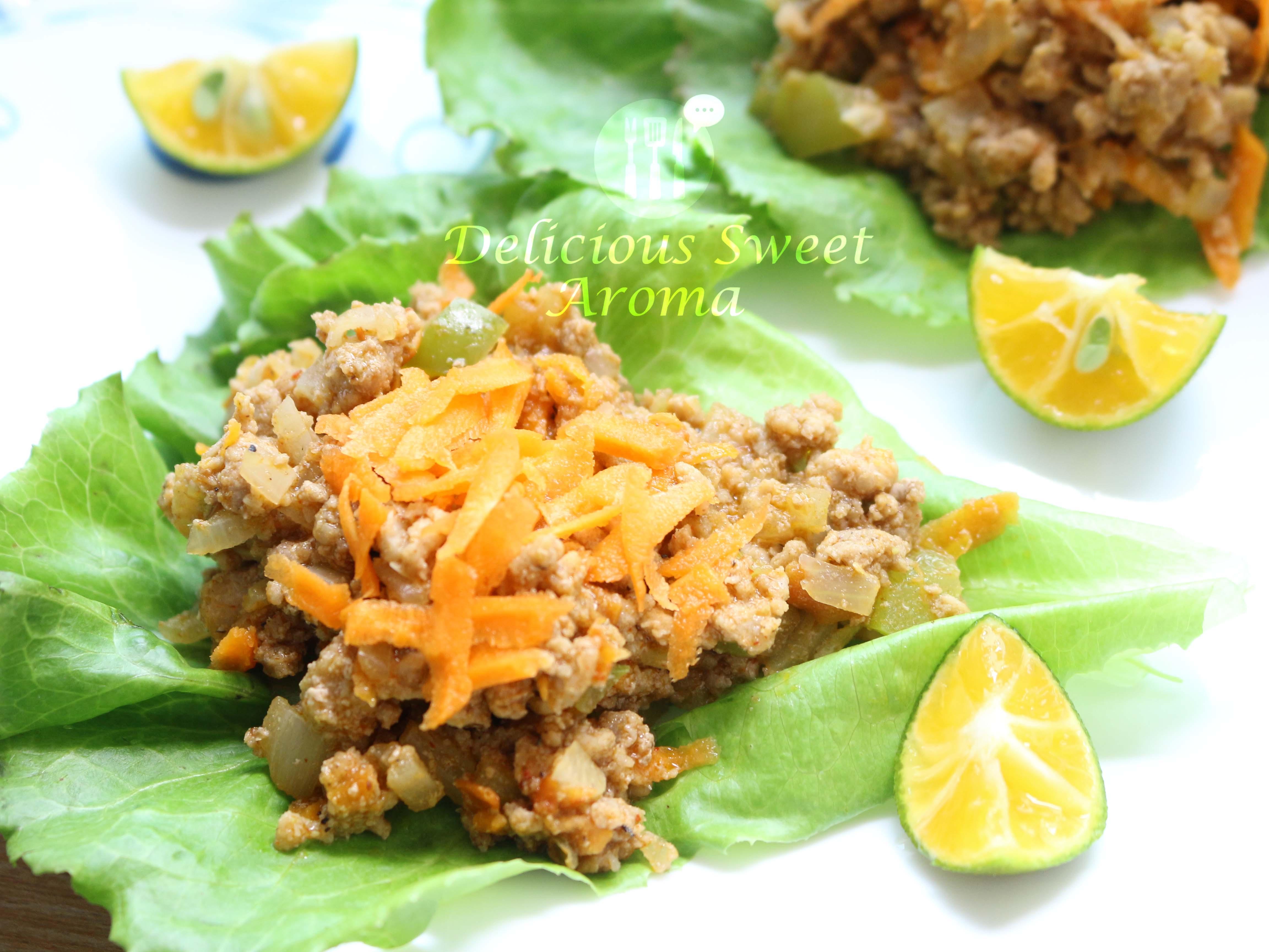 Pork Lettuce Wraps | 35 Minutes Recipe | Pork Mince